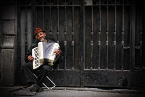 Accordion player by e-l-a-n-i