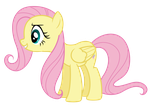 Eyebrow Wizard Fluttershy by Reginault