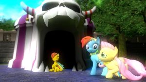 Scared Fluttershy... by Legoguy9875