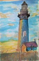 The Lighthouse Sketch by Dania987