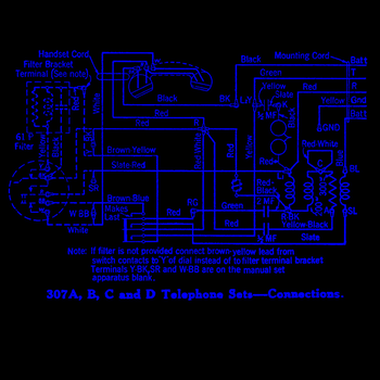 Rotary Telephone Diagram Wallpaper by Zarious