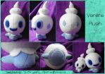 Vanillite Plush by SmileAndLead