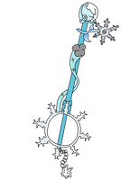 (Keyblade) Winterbliss by Geno-Dimentio
