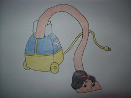 Snow White Vacuum Cleaner Tf by EduartBoudewijn