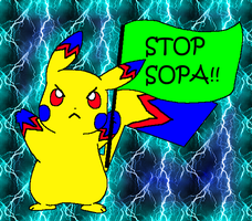 STOP SOPA! by Shade-Hero-Project-X