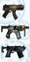 Concept SMG's by JonGibbons