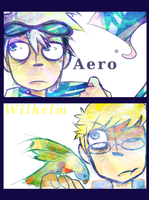 Pc-Aero and Wilhelm by Cheapcookie
