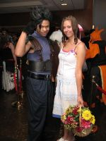 Zack and Aerith at NDK 2008 by minako55nz