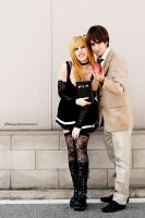 Light Yagami and MisaMisa by LadyDaniela89