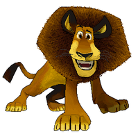 14. Alex the Lion - Madagascar by ConkerTSquirrel