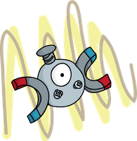 Day 9 Magnemite by K3R0