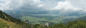 View over Bavaria Panorama by BlokkStox