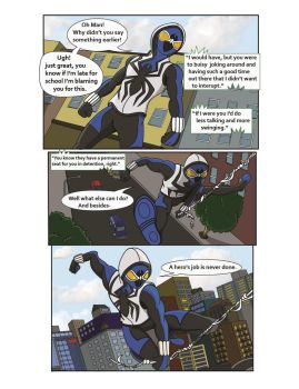 Spiderman Weaver Comic pg11 by KGH786