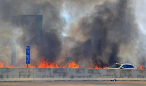 I-70 Fire by rongiveans