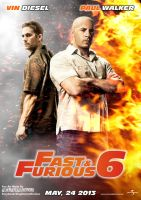 Fan Art Fast and Furious 6 by imaginaline