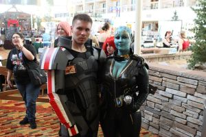 Best Shepard and Samara Pic by sharnuyt