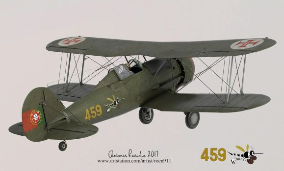 Gloster Gladiator WIP by rOEN911