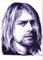 cobain 27 by Jim-Dacuycoy
