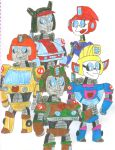 Transformers Ready to Roll 45 by SithVampireMaster27
