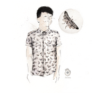 Dan style #01 - That motherfluffin' MOTH SHIRT by szluu