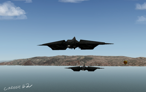Longsword formation flying S by caboose11l2