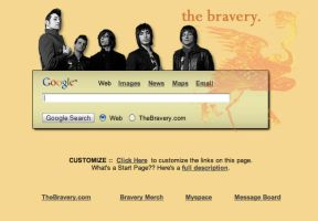 The Bravery Startpage by AwesomeStart