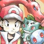 Red and his pokes by SailorClef