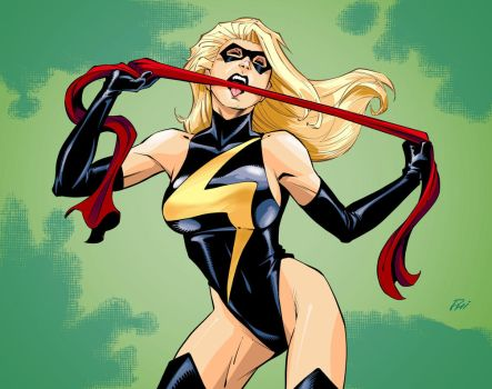 Ms. Marvel: Who's Your Daddy? by Inkermoy