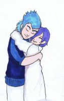 Hugs they need them by Willowanderer
