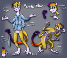 Monster Blair Ref by Blairaptor