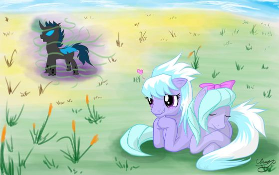 Special somepony Cloudchaser by Unnop64