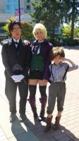Kumoricon 2012 Claude, Alois, and Luka by GayMenDancing