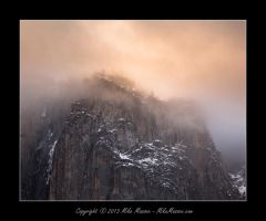 El Capitan Clearing Storm Sunset by CheshirePhotographer