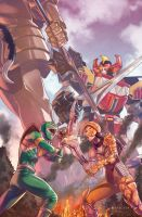 Mighty Morphin Power Rangers #2 by Pryce14