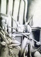 Graphite Still Life by EmpressTuiLa