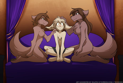 Two Natanis by Twokinds
