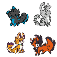 Chibis for TJ121 by alfvie