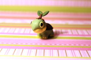 front view turtwig desk buddy by KiwiPheonix