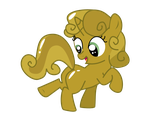 Gold Sweetie Belle by nero-narmeril
