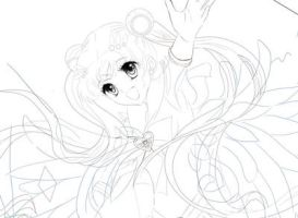 Super Sailor Moon - Preview Outlines by YongFoo-ds7