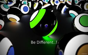Be Different.. by 3DJack