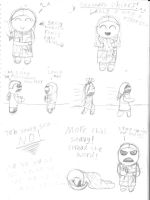 Saavedro Doodles, Part Two by MystressOfDarkness13