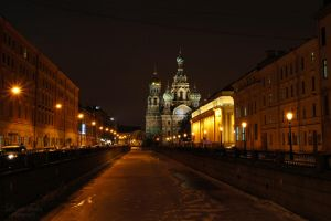 Church of the Savior on Blood by LunaFeles