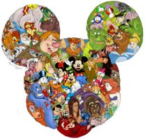 Disney Puzzle Color by TheMadRoman