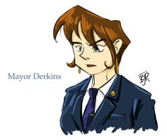 Mayor Derkins by erikjdurwoodii