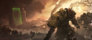 The 1st Orcs and Human war by YanmoZhang