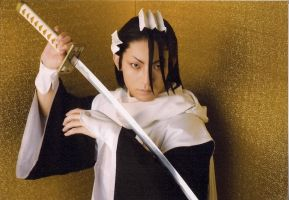 Bleach rock musical Byakuya by wolf-speaker9