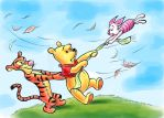 Winnie the Pooh and the Blustery Day by zdrer456