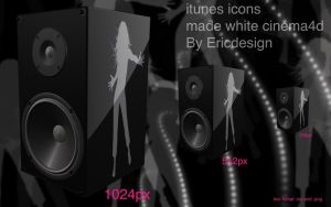 itunes icons by 3DEricDesign
