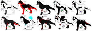 Special Pointable wolves by Toshiro-Hitsugaya-31